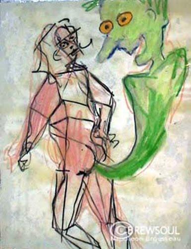 drawing 1995 - napoleon brousseau
