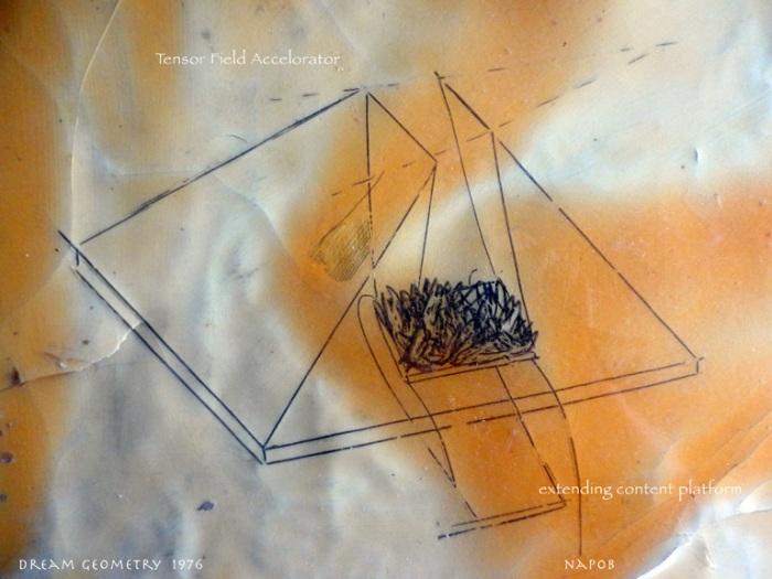 dream geometry napoleon brousseau drawing 1976