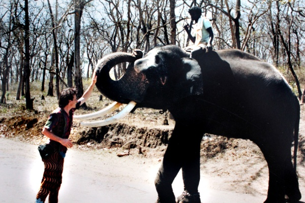 napo b india travel images 1991