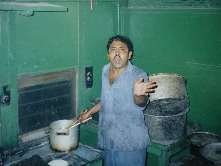 No Pictures in the galley on Calcutta express
