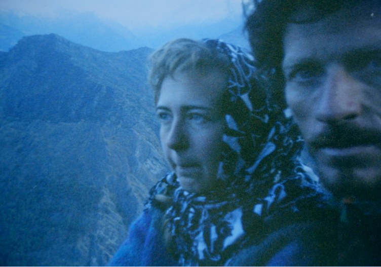 Chilly selfies  in the Himalayas
