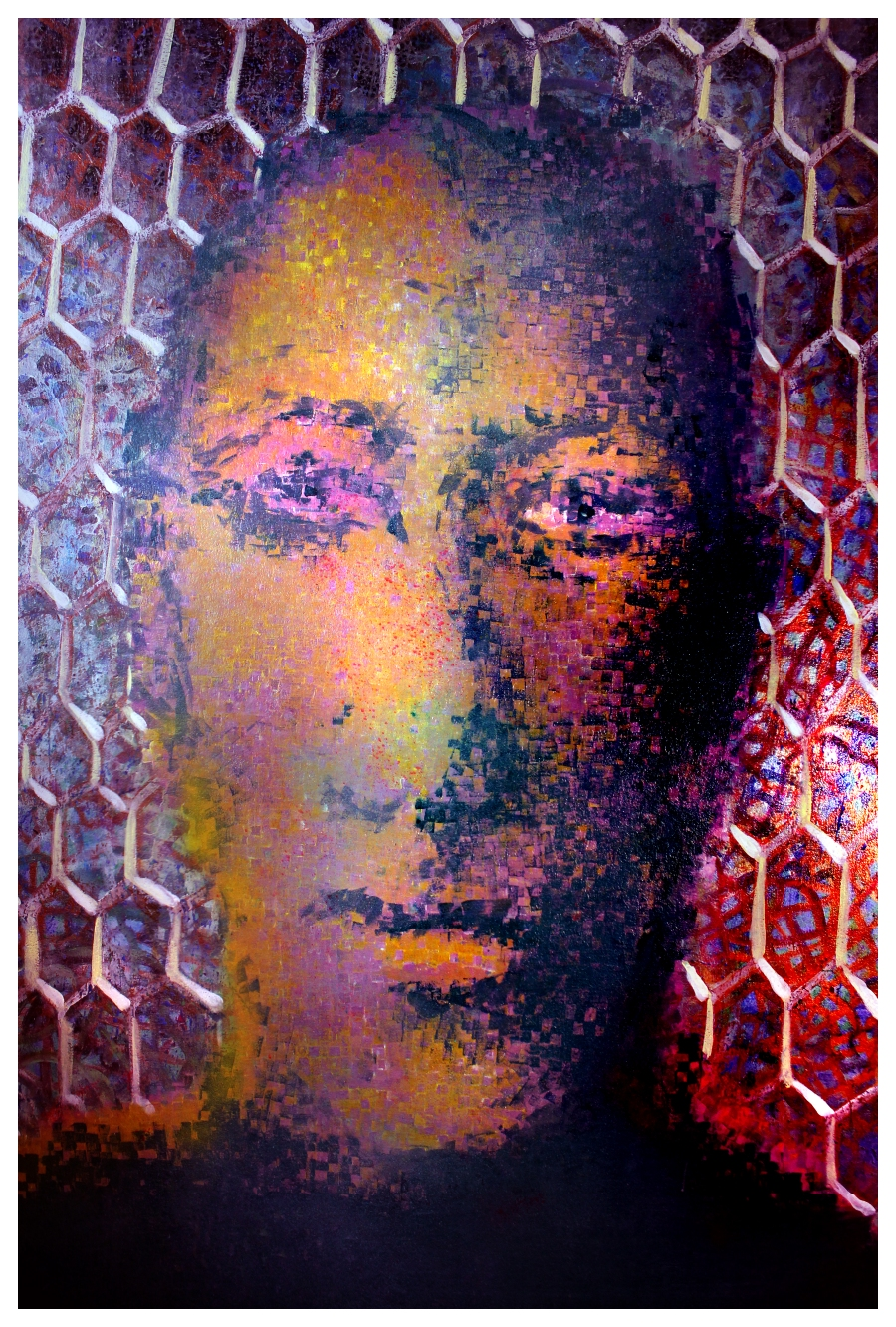 Bee Man Rudolf Steiner Acrylic and oil on panel, 2012