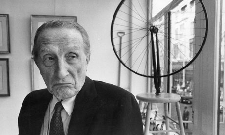 Why so glum Mr Duchamp.