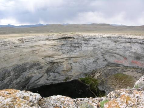 Diana's Punchbowl, Monitor Valley, Nevada